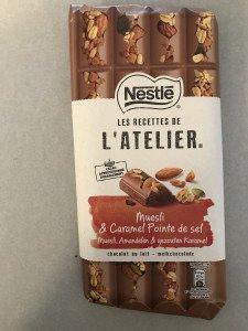 Nestlé Muesli Caramel pointe de sel